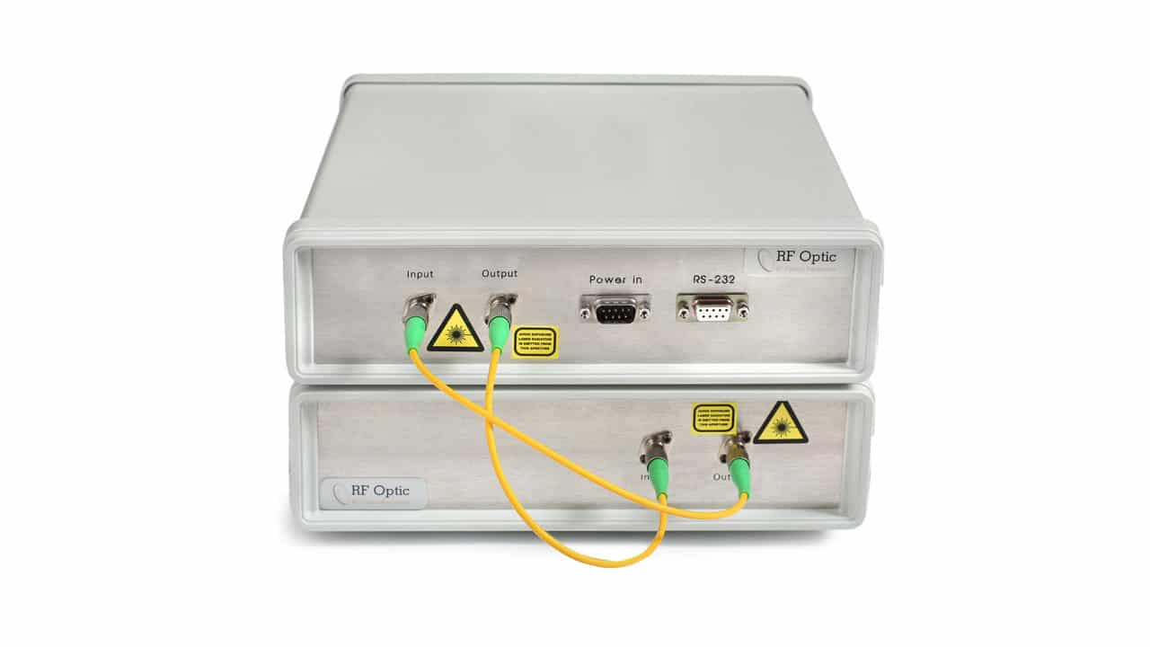 Optical Delay Line (ODL) and RF over Fiber Module in One Unit