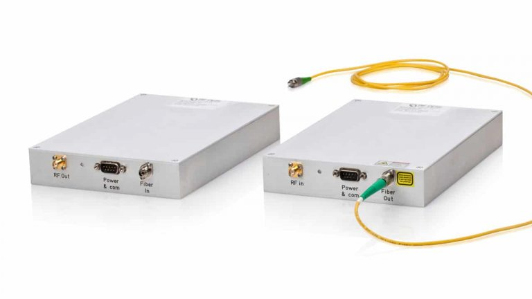 15GHz RF over Fiber Tx Transmitter and Rx Receiver
