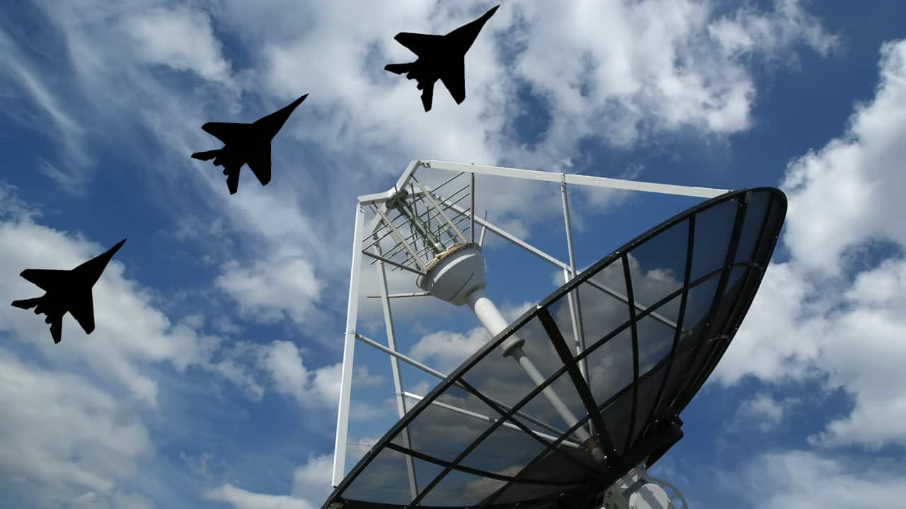 Modern Russian radar