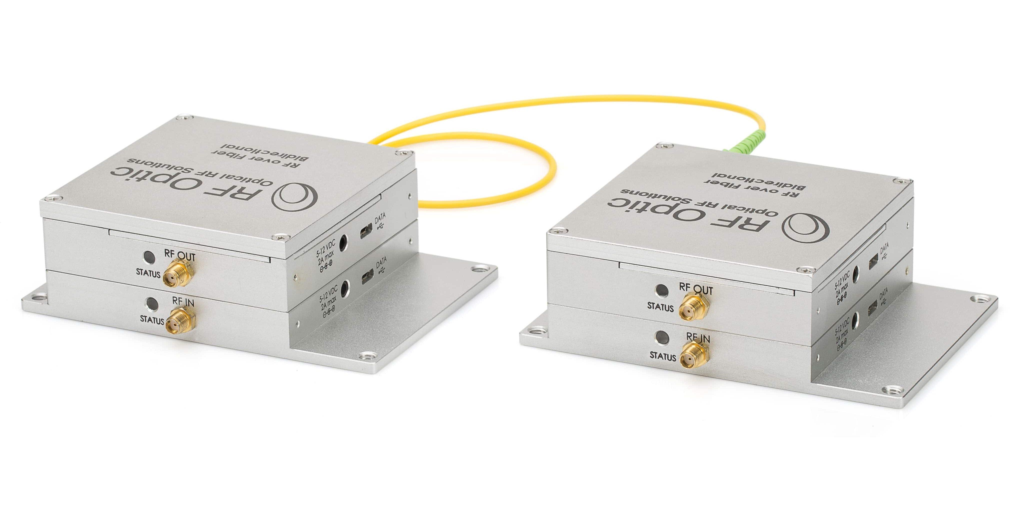 Programmable RFoF units – Bidirectional