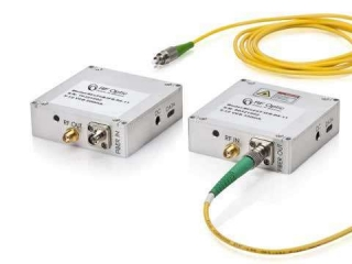 4GHz RF over Fiber Transmitter and Receiver – Palm-Sized and Programmable