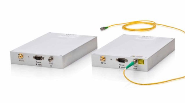 40GHz RF over Fiber Tx Transmitter and Rx Receiver