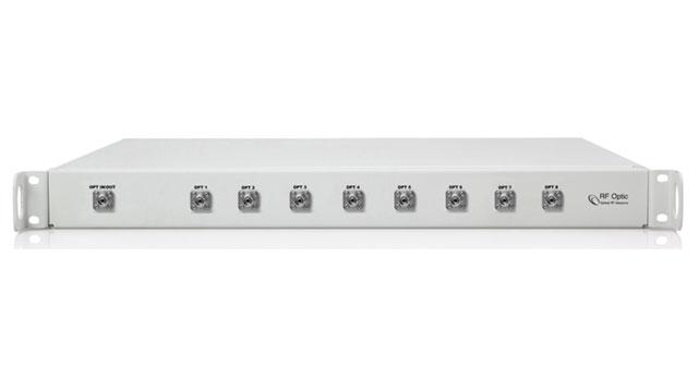 RFoF CWDM 8-Channel Multiplexer / Demultiplexer For Additional Bandwidth
