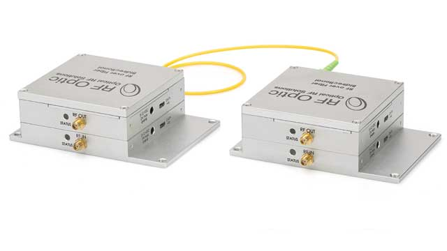 Programmable Bidirectional RF Over Fiber Dual Transceivers