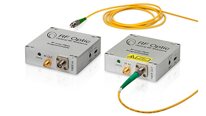 2.5GHz RF over Fiber Transmitter and Receiver for GPS applications