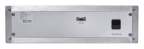 18GHz Optical Delay Line (ODL) - Back Panel