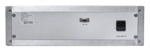 8GHz Optical Delay Line – Rear Panel