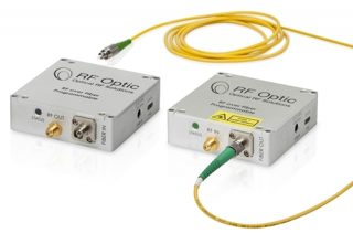 RF over Fiber Transmitter and Rceiver for GPS