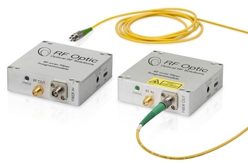 RF over Fiber Transmitter and Rceiver for GPS