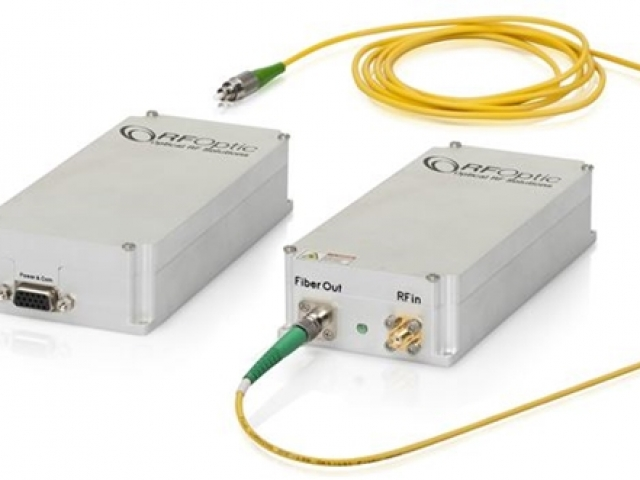 20GHz RF over Fiber SFDR Tx Transmitter and Rx Receiver