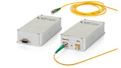 20GHz RF over Fiber SFDR Tx Transmitter and Rx Receiver